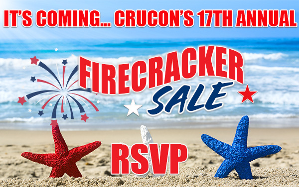 CruCon Cruise Firecracker Sale RSVP