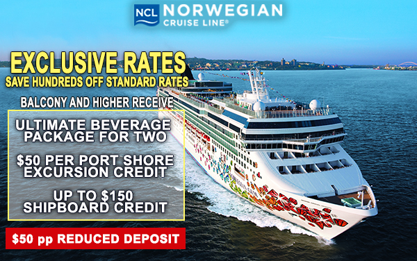 Norwegian Cruise Lines Deals CruCon Cruise Outlet Every - Cruise ship promotions