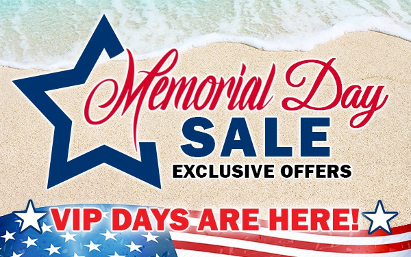 Memorial Day Sale Here