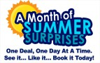 A Month of Summer Surprises